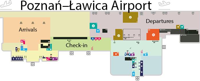 POZ-Arrivals-Poznań-Airport-terminal-map