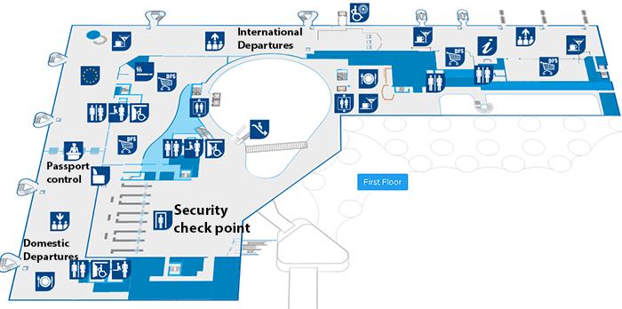 Split-Airport-Departures-SPU-first-floor-terminal-map