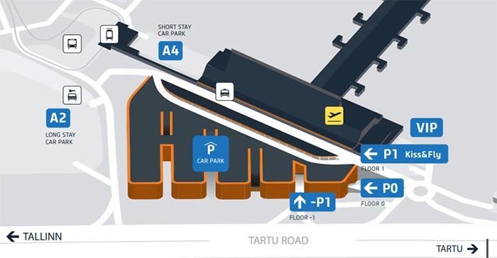 Tallinn-Airport-Arrivals-TLL-parking-map