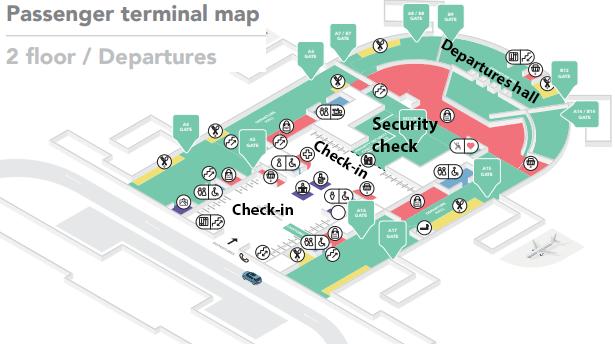 Vilnius-Airport-Departures-VNO-terminal-map-floor-2