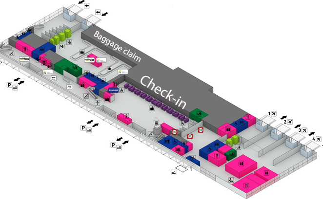 WMI-Arrivals-Warsaw-Modlin-Airport-terminal-map